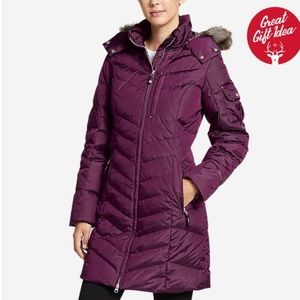 Eddie Bauer Sun Valley Down Parka Dark Plum